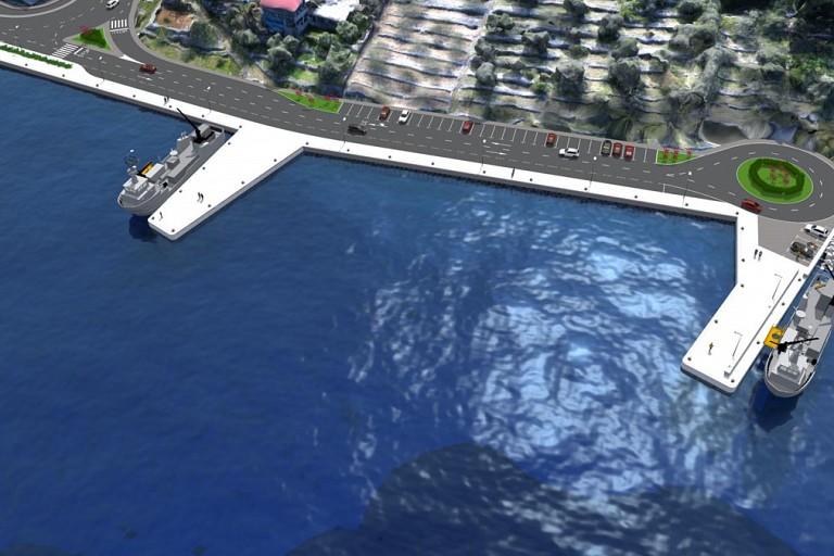 Ribarska luka Vela Luka